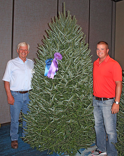 jim and david chapman with their balsam fir